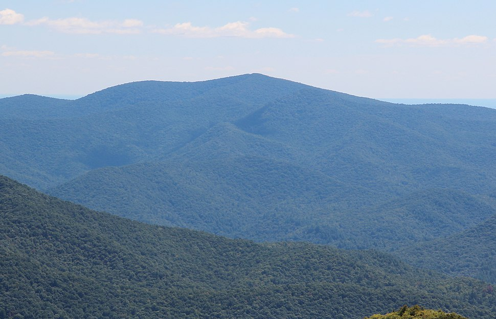 Tray Mountain viewed from Brasstown Bald
