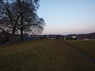 Netherlee - The hill where Lee Castle was located