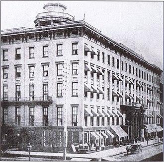Tremont House (Chicago) - Stephen Douglas' deathplace (1850-1871)