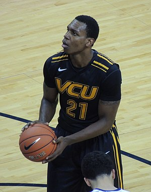 Treveon Graham - Graham shoots a free throw in a game in November 2013
