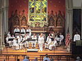 Trinity Church NOLA Independence Day Concert 2012 Navy Band.JPG