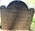 Trinity Episcopal Church, Woodbridge, NJ - Tombstone, Sarah Jacques.jpg
