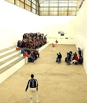 Valencian pilota - Valencian pilota match