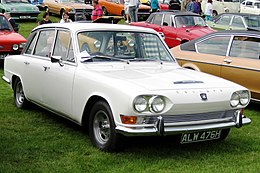 Triumph 2.5 PI Mk I 2498cc first registered August 1969.JPG