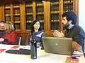 Trobada amb bibliotecaris bascos.JPG