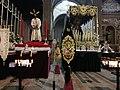 Tronos de la Hdad. Captiu Dolors preparados para salir a las calles de la ciudad el viernes Santo.jpg
