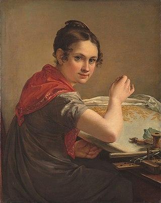 Золотошвейка, 1826