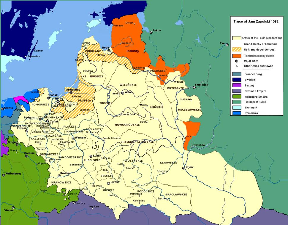 Truce of Jam Zapolski 1582
