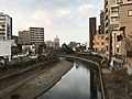 Tsuboigawa River from Giombashi Bridge 3.jpg