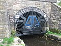 Tunnel Entrance Gates at Diggle - geograph.org.uk - 251745.jpg