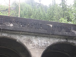Snoqualmie Tunnel - Image: Tunnel nametop