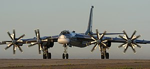 Tupolev Tu-95 - Tu-95MS at Engels Air Force Base