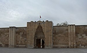 Aksaray - Monumental entrance of the Sultan Han