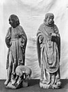 twee houten beelden, vermoedelijk johannes de dooper en de heilige laurentius, beschadigd - soest - 20202252 - rce