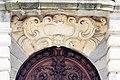 Tympan de la porte d'entrée, palais du parlement de Bretagne, Rennes, France.jpg