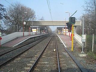 Tyne Dock Metro station Tyne and Wear Metro station in South Tyneside