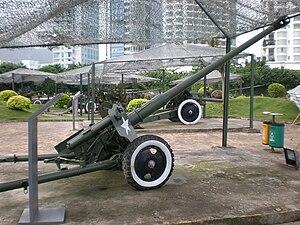 85 mm divisional gun D-44 - Type 56, PLA D-44 variant