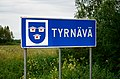 Tyrnävä municipal border sign 20190730.jpg