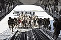 U.S. Soldiers with the 1st Battalion, 294th Infantry Regiment, Guam Army National Guard board an Air Force C-17 Globemaster III aircraft Dec. 29, 2013, at Kabul International Airport North in Kabul, Afghanistan 131229-Z-WM549-006.jpg