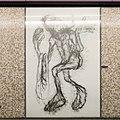 U2 Museumsquartier Kunst Bahnsteig 1 Zeichnung 09 Der Alternde.jpg