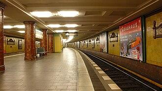 Fehrbelliner Platz (Berlin U-Bahn) - Platform of the U3