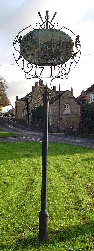 Branston, Lincolnshire - Signpost in Branston