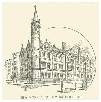 Columbia University - 1857 building