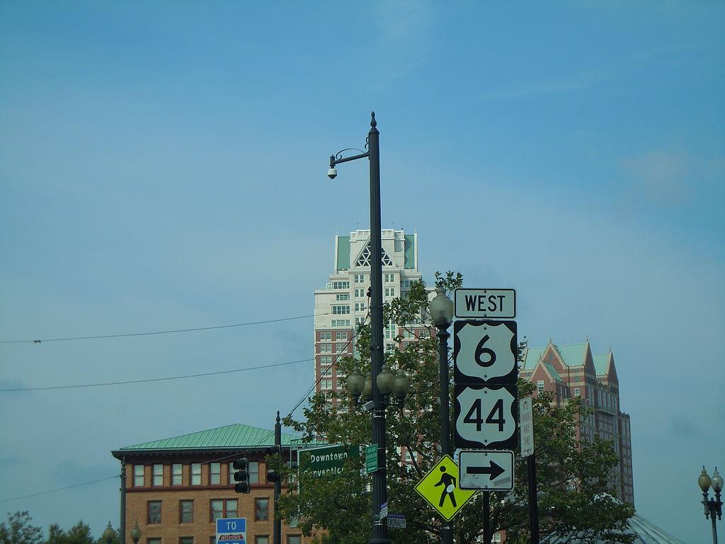 Rhode Island Sign  Miles Away In Sac