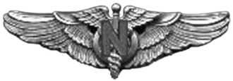 Flight Nurse Badge - Army Air Force Flight Nurse Badge (WW II)