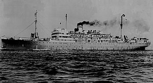 SS Munargo (1921) - USAT Thistle in 1948, Seattle to Yokohama, Japan- courtesy of Elizabeth Terry