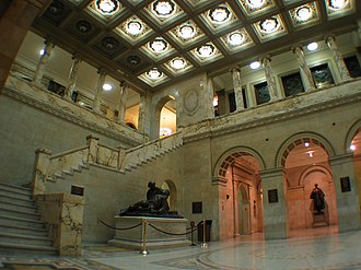 Government of Massachusetts - The interior of the State House