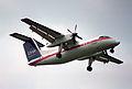 USAir Express DHC-8 Dash8; N981HA@BWI;24.07.1995 (5024506852).jpg