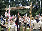Boy Scouts at Camp Tama