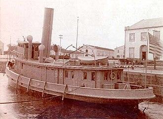 USRC Hudson (1893) - Image: USRC Hudson 1893
