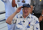 USS Arizona survivor visits memorial 130606-N-QG393-233.jpg