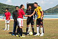 USS Bonhomme Richard sailors play soccer in Malaysia 150224-N-UF697-043.jpg