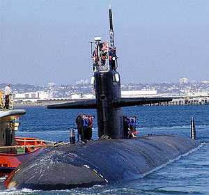 Naval Station Pearl Harbor - USS Bremerton SSN-698