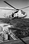 USS Carpenter (DD-825) refuels SH-3A Sea King of HS-8 c1968.jpg