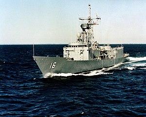 USS Clifton Sprague (FFG-16).