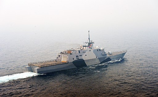 USS Freedom transits the South China Sea (9093239783)
