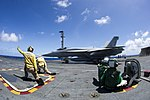 USS George Washington operations 150605-N-EH855-154.jpg
