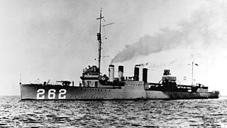 USS <i>McDermut</i> (DD-262)