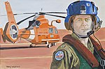 US Coast Guard Art Program 2014 Collection, 'Pilot and his 'Copter' 140613-G-ZZ999-020.jpg