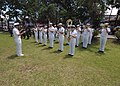 US Navy 060526-N-6501M-010 The U.S. Navy Show Band performs together with band members from the Philippine Armed Forces during the official welcoming ceremonies.jpg
