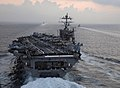 US Navy 071116-N-0455L-005 USS Harry S. Truman (CVN 75) carrier strike group (CSG) transits through the straits of Gibraltar.jpg