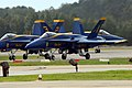US Navy 080920-N-9286M-413 F-A-18C Hornets from the Blue Angels return to staging area after completion of flight demonstration.jpg