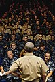 US Navy 100608-N-7498L-007 Chief of Naval Operations (CNO) Adm. Gary Roughead holds an all-hands call for Hawaii-based Sailors.jpg