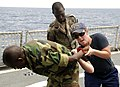 US Navy 100901-N-5225S-003 U.S. Coast Guard trains with the Senegalese Navy.jpg