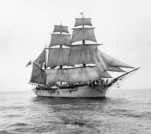 USRC Salmon P. Chase (1878) - Image: US Revenue Cutter Chase