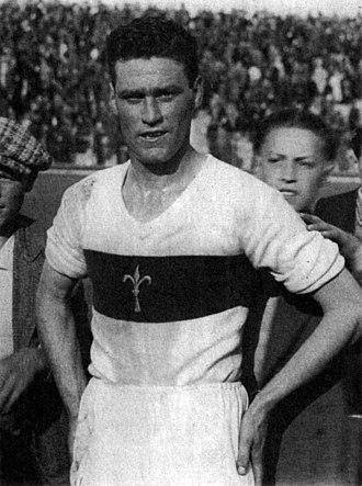 Nereo Rocco - Rocco playing for Triestina in the 1930s